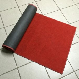 Roter Teppich, 91x275cm