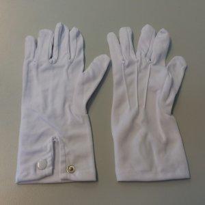Paar Handschuhe (weiß)